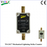 7-Digit Mechanical Lightning Strike Counter IP65 Protection Level