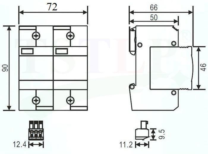 ts 385b25rm 2 class b surge protection device china ts 385b25rm 2 rh tslpro com