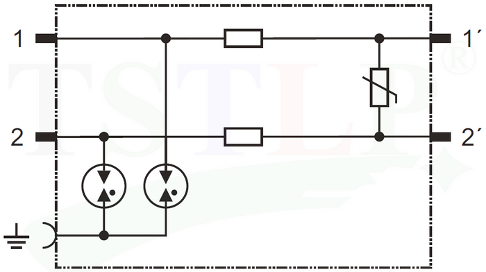 TS-DP1 LSA110 Telephone line surge protection - China TS-DP1 LSA110 ...